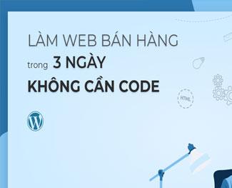 Học làm web bán hàng Wordpress cho người không chuyên