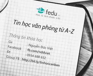 Combo tin học văn phòng A-Z (Word / Excel / Power Point / Internet / Windows)