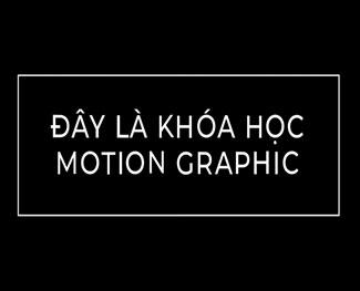 Khóa học After Effect nâng cao với typography (HP 4.2)