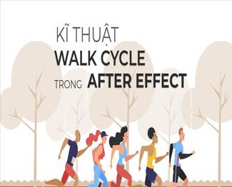 Khóa học chuyển động Walk Cycle với After Effect (HP 4.3)