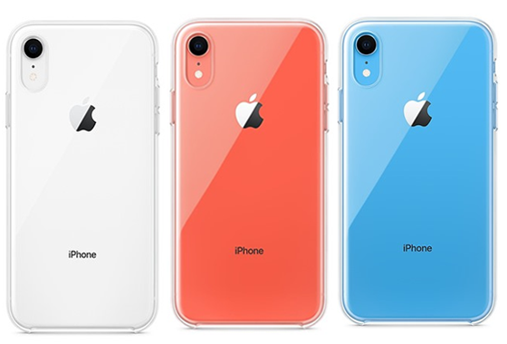 Ốp lưng iPhone XR Silicon Trong