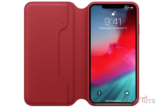 Bao da iPhone XS Max Leather Folio