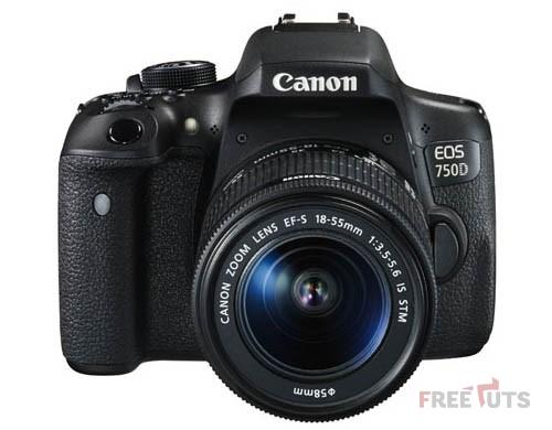 Máy ảnh Canon EOS 750D