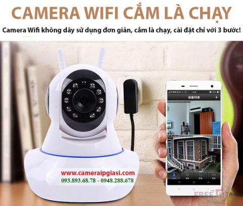 Camera IP WIfi Yoosee 3 râu 2.0MP Full HD 1080p