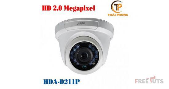 Camera HD TVI Afiri HDA-D211P