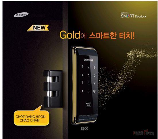 Khóa Cửa Điện Tử Samsung SHS D530