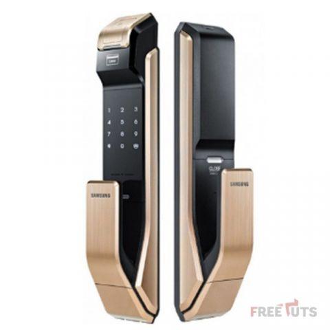 Khóa cửa điện tử Samsung SHS-P718LBG/EN