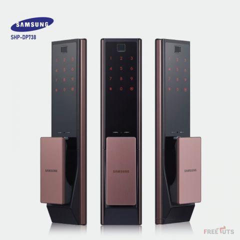 Khóa Cửa Điện Tử Samsung DP738