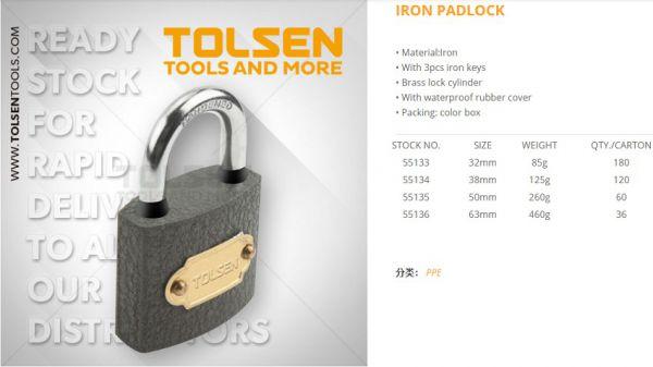Ổ Khóa Tolsen 55136