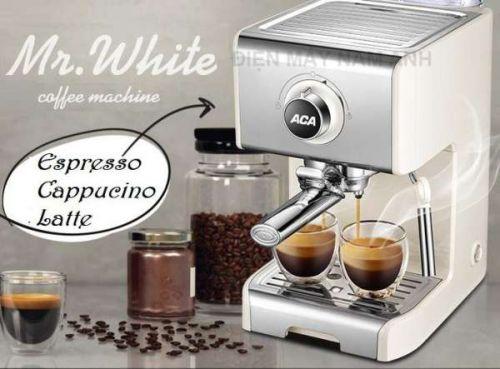Máy pha cà phê Espresso ACA-ES12A MR.WHITE