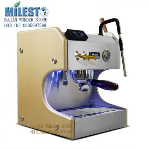 Máy pha cà phê chuyên nghiệp espresso Milesto EM-20