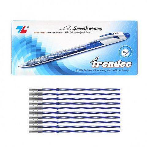Combo Hộp 20 Bút và 20 ruột Bút Thiên Long TL-079