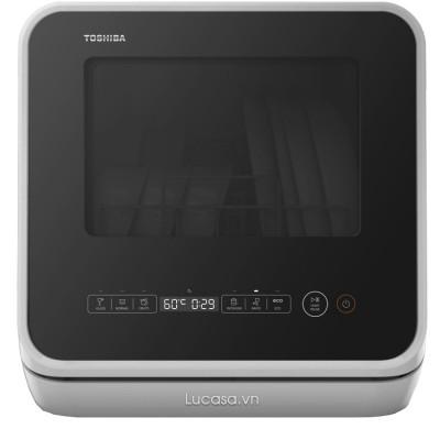 Máy Rửa Chén Mini Toshiba DWS-22AVN-N