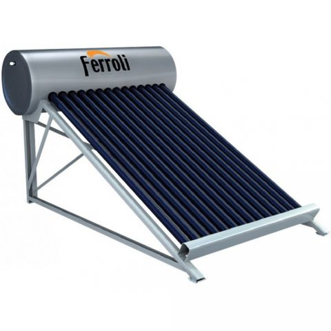 Máy nước nóng năng lượng mặt trời Ferroli 160 L