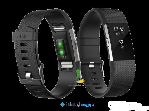Vòng Đeo Tay Thông Minh Fitbit Charge 2 Blue Silver