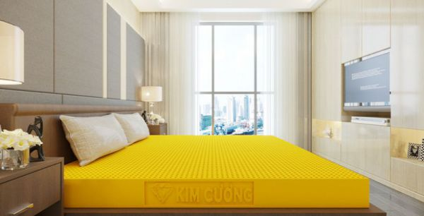 Nệm cao su Kim Cương Happy Gold 15cm