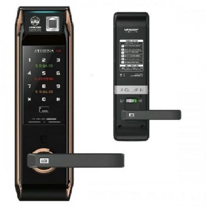 Khóa cửa vân tay điện tử Unicor 9000BWSK -F