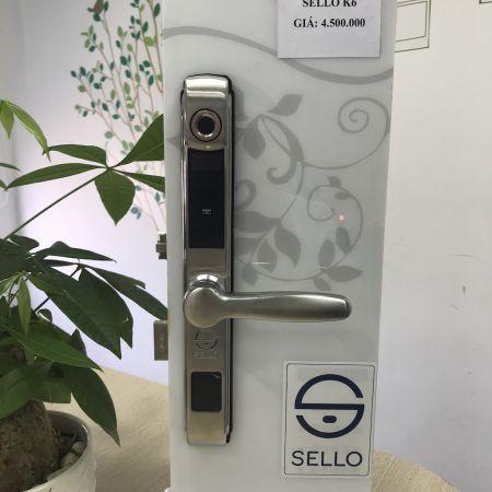 Khóa vân tay cửa sắt SELLO K6