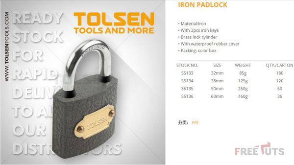 Đánh giá ổ Khóa Tolsen có tốt không?