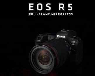 Canon EOS R5 khi nào ra mắt? Giá dự kiến bao nhiêu?
