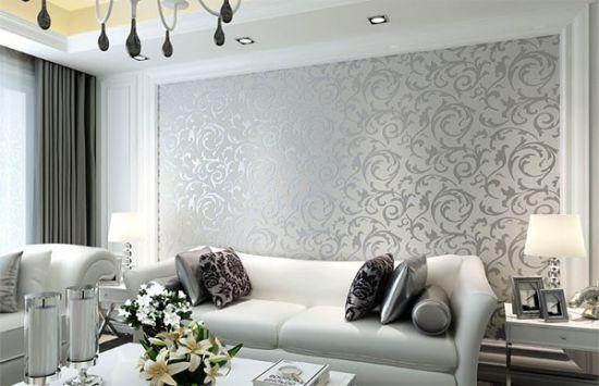 [Tư vấn] Mua giấy dán tường cho phòng khách loại nào tốt?