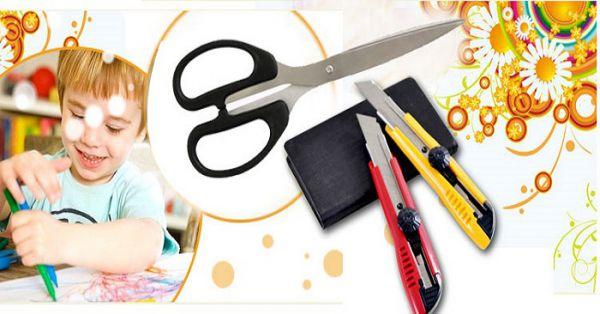 Mua dụng cụ kéo, dao rọc giấy ở đâu giá rẻ nhất?
