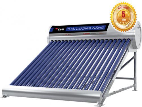 Tìm hiểu máy nước nóng năng lượng mặt trời ống dầu