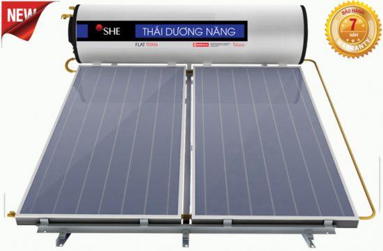 Tìm hiểu máy nước nóng năng lượng mặt trời mặt phẳng