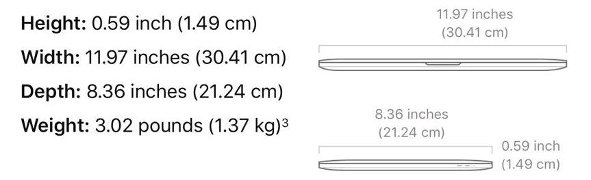 macbook pro 13 vs 16 inch 4 PNG