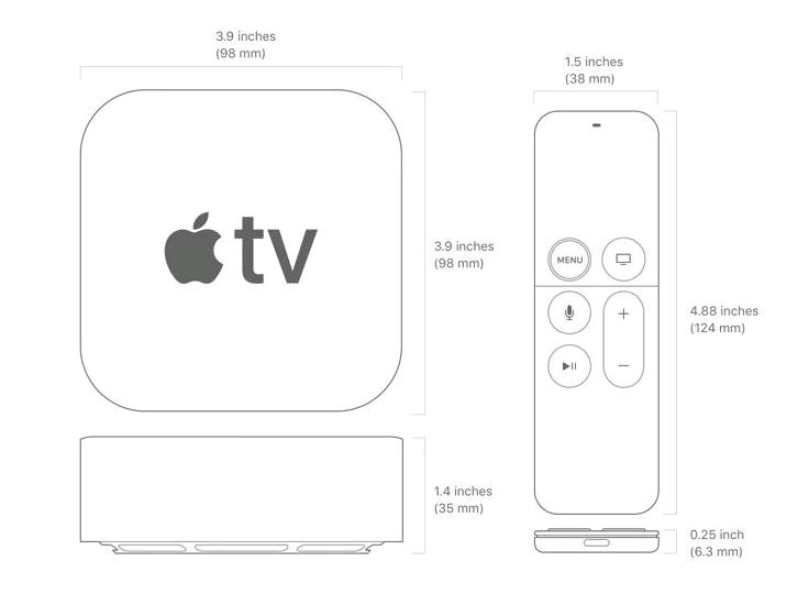 apple tv 4k 4 PNG