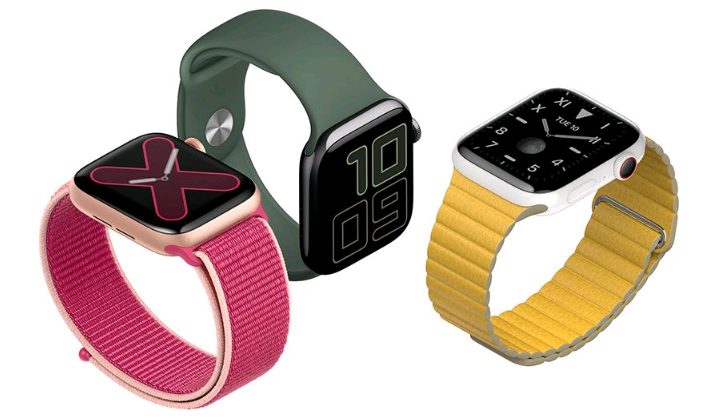 apple watch s5 6 PNG