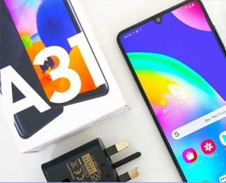 Đánh giá Samsung Galaxy A31: Giá rẻ, pin