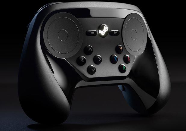 tay cam choi game pc Valve Steam Controller JPG