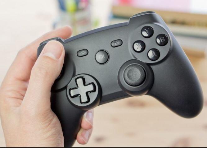tay cam choi game xiaomi Bluetooth Gamepad JPG