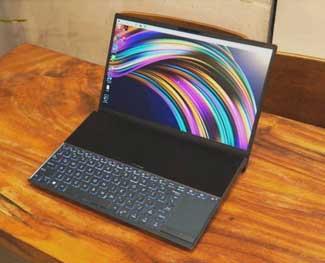 Đánh giá Asus Zenbook Duo - Laptop 2 màn hình thiết kế khá ấn tượng