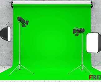 Mua bộ dụng cụ phông nền xanh để làm kỹ xảo Chroma Key - Dựng phim