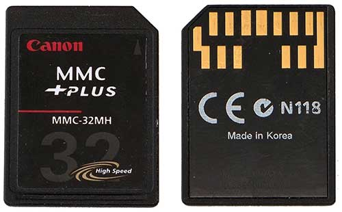 Multimedia Card jpg