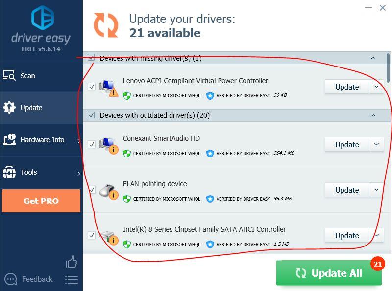 update driver JPG