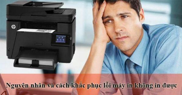 Nguyên nhân và cách sửa lỗi máy in không in được và máy in báo kẹt giấy