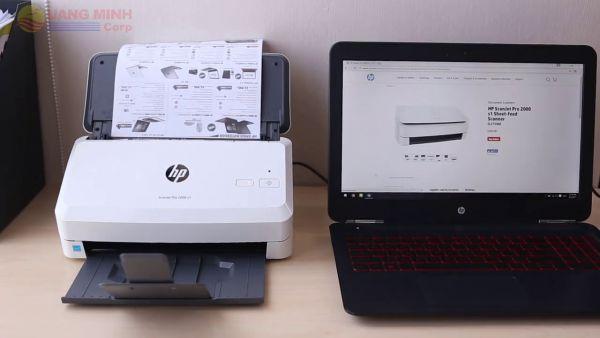Sửa lỗi không cài đặt được Driver các dòng máy scan HP