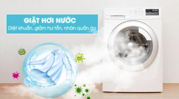 Máy giặt hơi nước là gì? Ưu điểm khi sử dụng máy giặt bằng hơi nước