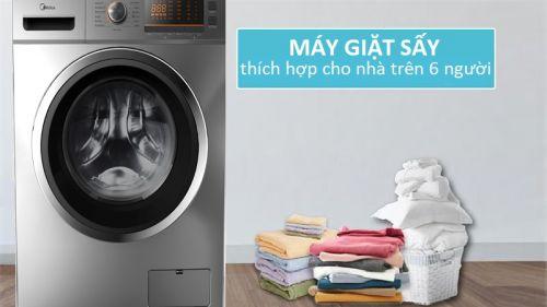 Máy giặt sấy là gì? Ưu điểm và nhược điểm của loại máy giặt này