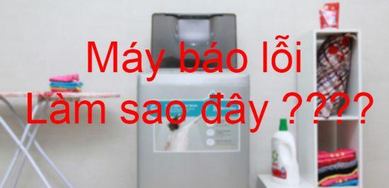 Các lỗi thường gặp khi sử dụng máy giặt và cách khắc phục