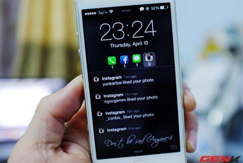 Cách tắt chế độ hiển thị tin nhắn trên màn hình của iPhone
