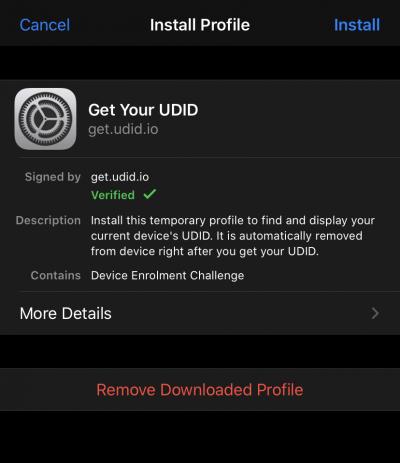 cach tim UDID cua iphone 11 va iPhone 20 11 pro 5 400x463 jpg