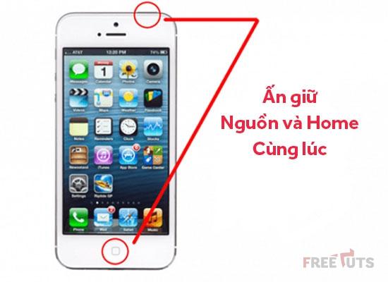 cach chup man hinh tren dien thoai iPhone va Android jpg
