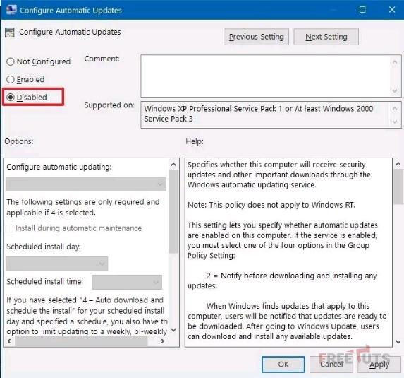 cach tat update windows 10 5 PNG