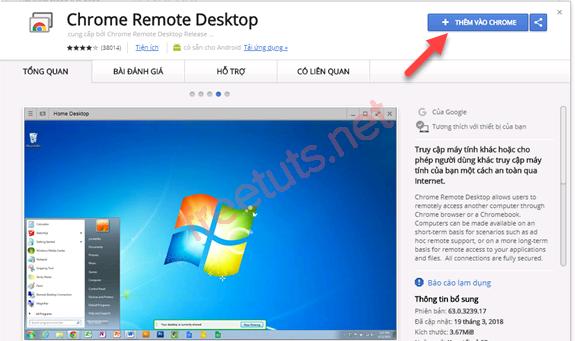 cach su dung chrome remote desktop PNG