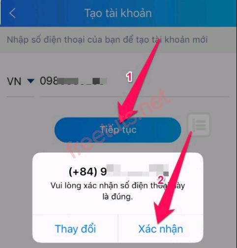 Tạo tài khoản Zalo bằng hai cách có số điện thoại và không có