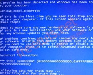 Cách khắc phục lỗi màn hình máy tính bị xanh